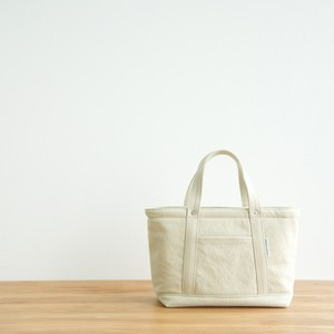 CANVAS TOTE FS / GRAY BEIGE