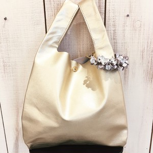 Bag in Batako Bag &Charm (Gold bag) S size