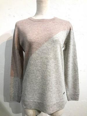 バイヤスバイカラーセーター