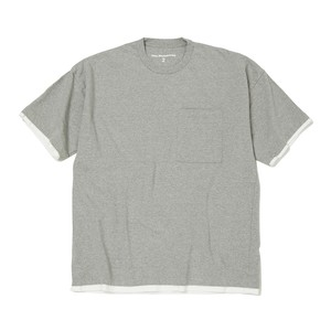 WIDE SILHOUETTE T-SHIRT-GRAY