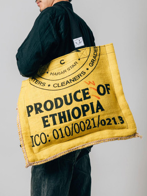 ETHIOPIA (イエロー) バッグ (現在sold outです)