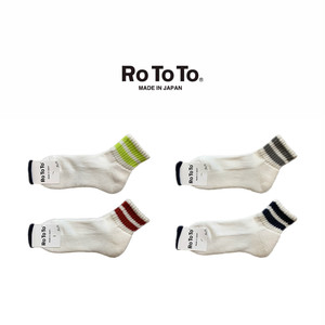(ロトト)RoToTo O.S. LINE SHORT SOCKS