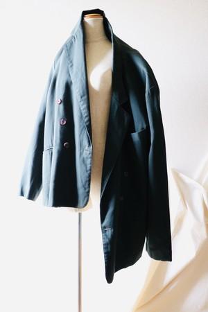 Vintage oversized double tailored jacket