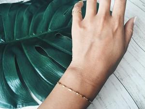 14kgf hawaiianchain bracelet