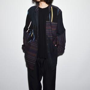 "Crazy Pattern ""NIPPON SILK"" Shirt Coat 〈J〉"