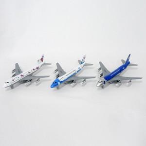 <ミニカー・飛行機>ジャンボジェット 3色アソート No.201-913