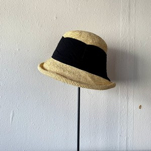 TERAI craftment|Khadi Ribbon Hat(Natural)