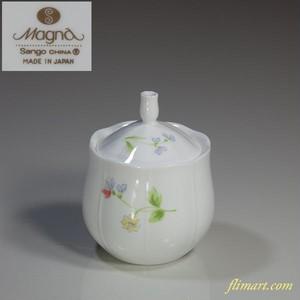 Sango Magna花柄シュガーポットT1575