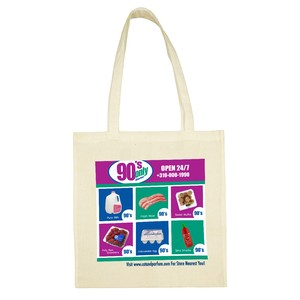 90's Only Store Cotton Tote Bag