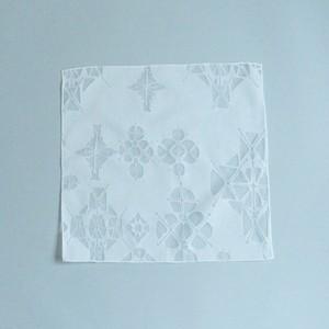 HANDKERCHIEF(30cm) - 「鏡の花」