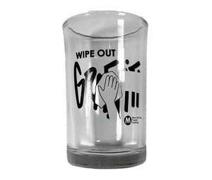 "MTA / GLASS ""Wipe Out Graffiti"""