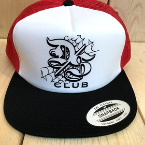 "DOOM SAYERS ""DS CLUB"" MESH CAP /RED&WHITE&BLACK"