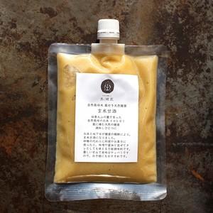 玄米甘酒               -イセヒカリと蔵付き天然麹菌-
