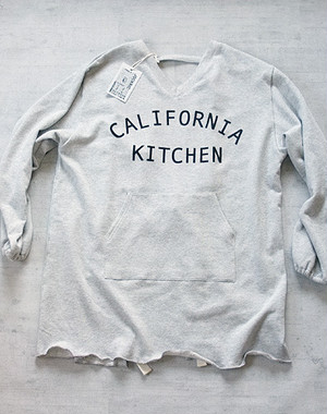 「california kitchen」sweat coverall Apron