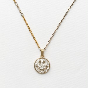amp japan/Crushed Stone Smile Top with Dichromatic Chain -Howlite-