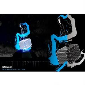 InfoThink ルームライト MARVEL アベンジャーズ USB給電 ハンマー マイティ・ソー IT-LIGHT-100 (THOR)