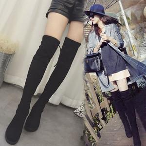 【シューズ】ファッションスエードビンテージイギリス風ブーツ25972608