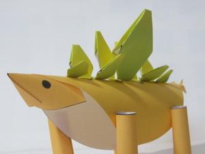いちまいでいのち「ステゴサウルス」(ダウンロード販売)