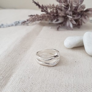 【送料無料】silver925 La mer ring (ラメールリング)