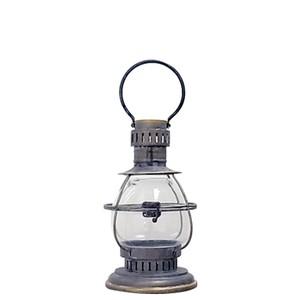 "【A655-589S】Metal lantern ""BOLS"" S #ランタン #アンティーク #ヴィンテージ #レトロ #マリン #ハンギング"