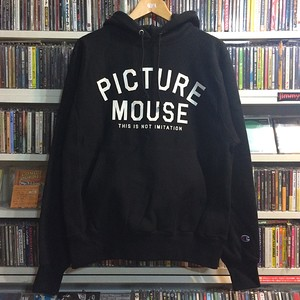 PICTURE MOUSE●champion reverse weave parka(ブラック)