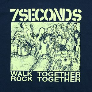 "7 SECONDS ""Walk Together Rock Together"""