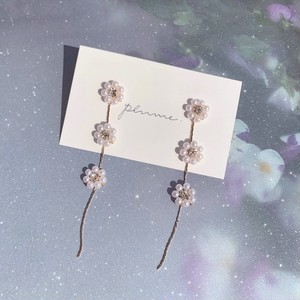 flower chain pierce / earring≀ ≀