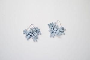 maruba 02 /  light blue / pierce / earring