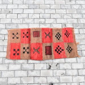 "【Vintage】Moroccan Rug ""Size 150cm×53cm"""