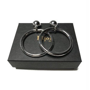 Bijou R.I - Light Ring Earring (Silver) -