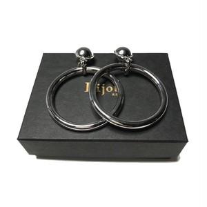 Bijou R.I - Light Ring Earring (Silver) -