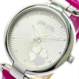 フォリフォリ FOLLIFOLLIE 腕時計 レディース WF15T029SPW-FU HEART 4 HEART クォーツ ホワイト ピンク ホワイト