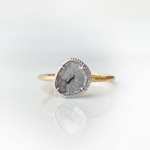 Sliced Diamond Ring(R357-YWD)