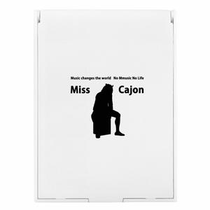 ミラー Miss Cajon  white