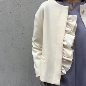 DIARIUM/フリル付きジャケット