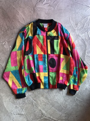 All Print Blouson