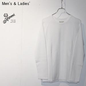 Kepani 長袖カットソー Long Sleeve T KP9902MS (WHITE)