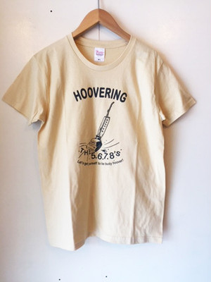 The 5.6.7.8's T-shirt HOOVERING-Beige