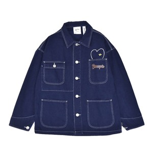 EXAMPLE x MARK GONZALES SON&MOM WORKWEAR JACKET / NAVY