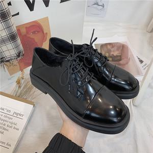スタイルレザーレディースレースカジュアルシングル 靴 シューズ スプリング 春物 新作 レディース 靴 mlx88881932507