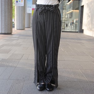 【ALLEGE】STRIPE BELTED PANTS