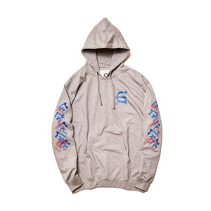 EVISEN DOSU HOOD HEATHER L エビセン パーカー