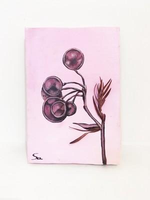 植物A ドライフラワー アート インテリア 絵画 Interior painting