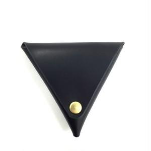三角コインケース【ブラック】