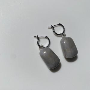 gray×gold marble pierce