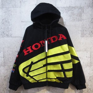 SUPREME × HONDA 19AW Fox Racing Puffy Zip Up Work Jacket