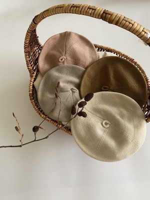 =sold out=knit beret〈Aosta〉