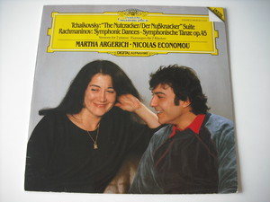 "【LP】MARTHA ARGERICH,NICOLAS ECONOMOU / TCHAIKOVSKY""THE NUTCRACKER"" ,RACHMANINOV""SYMPHONIC DANCES"" etc."