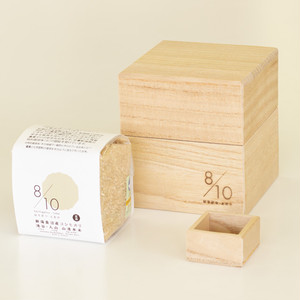 Kamo Kiri Rice Box 500g with Mini Measure Cup and Uonuma Koshihikari Brown Rice|Natural