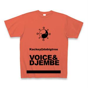 Kackey@dabigtree オリジナルTシャツ◆ディープオレンジ